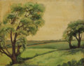 Texas:Early Texas Art - Impressionists, CATHERINE MCKINLEY SMITH (1908-1990). June in Texas, 1933.Oil on canvasboard. 18 x 23 inches (45.7 x 58.4 cm). Signed l...