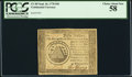 Colonial Notes:Continental Congress Issues, Continental Currency September 26, 1778 $50 PCGS Choice About New58.. ...
