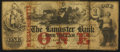 Obsoletes By State:Massachusetts, Lancaster, MA- The Lancaster Bank $1 Oct. 1, 1860 UNL . ...