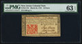 Colonial Notes:New Jersey, New Jersey March 25, 1776 18d PMG Choice Uncirculated 63 EPQ.. ...