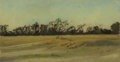 Texas:Early Texas Art - Impressionists, FRANK REAUGH (1860-1945). Nov. 2. Pastel on grit paper.3-1/2 x 6-1/2 inches (8.9 x 16.5 cm). Unsigned, authenticated by...
