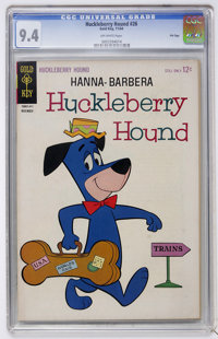 Huckleberry Hound #26 File Copy (Gold Key, 1964) CGC NM 9.4 Off-white pages