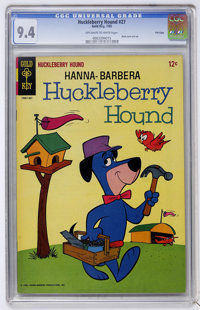 Huckleberry Hound #27 File Copy (Gold Key, 1965) CGC NM 9.4 Off-white to white pages