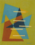 Works on Paper, EMIL JAMES BISTTRAM (American 1895-1976). Untitled, 1940. Encaustic on paper. 14 x 11 inches (35.6 x 27.9 cm). Signed an...