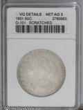Early Half Dollars: , 1801 50C AG3--Scratched-- ANACS,VG Details O-101 PCGS Population:(0/145). NGC Census: (0/197). Mintage: 30,289. Numismedia...