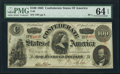 Confederate Notes:1863 Issues, T56 $100 1863 PF-2 Cr. 404.. ...