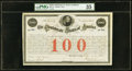 Confederate Notes:Group Lots, Ball 13 Cr. 2A $100 1861 Bond PMG Choice Very Fine 35.. ...