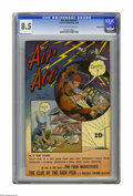 Air Ace V2#5 Pennsylvania pedigree (Street & Smith, 1944) CGC VF+ 8.5 Off-white to white pages. Overstreet 2005 VF 8...