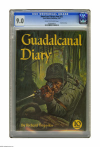 American Library #nn (#2) Guadalcanal Diary (David McKay Publications, 1943) CGC VF/NM 9.0 Cream to off-white pages. Pai...