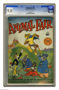 Golden Age (1938-1955):Funny Animal, Animal Fair #4 Crowley Copy pedigree (Fawcett, 1946) CGC VF/NM 9.0Cream to off-white pages. Highest grade yet assigned by C...