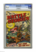 Golden Age (1938-1955):War, Battle Stories #4 Crowley Copy pedigree (Fawcett, 1952) CGC NM+ 9.6Off-white to white pages. Outstanding grade and war cove...