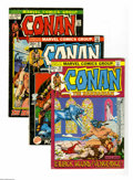 Bronze Age (1970-1979):Miscellaneous, Conan the Barbarian Group (Marvel, 1970-75) Condition: AverageVG/FN. Fifteen-issue group lot includes #2, 3 (low distributi...(15 Comic Books)