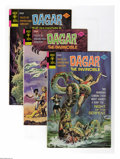 Bronze Age (1970-1979):Miscellaneous, Dagar the Invincible Group (Gold Key, 1972-76) Condition: AverageVF+. Fifteen-issue group lot includes Dagar the Invincib... (15Comic Books)
