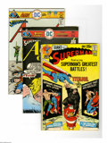 Bronze Age (1970-1979):Miscellaneous, DC Bronze Group (DC, 1971-77) Condition: Average FN+. Thirtytwo-issue group lot includes Superman #239 and 297; Actio... (32Comic Books)