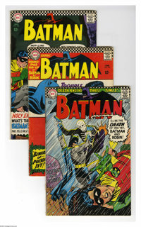 DC Silver Age Group (DC, 1963-71) Condition: Average GD+. Twenty two-issue lot includes Batman #180, 181 (intro of Poiso...