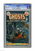 """Bronze Age (1970-1979):Horror, Ghosts #30 (DC, 1974) CGC NM- 9.2 White pages. Nick Cardy cover. E.R. Cruz and Lee Elias art. """"Mark Jewelers"""" insert. Overs..."""