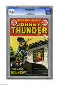 Bronze Age (1970-1979):Western, Johnny Thunder #1 (DC, 1973) CGC NM+ 9.6 Off-white to white pages. Alex Toth cover. Overstreet 2005 NM- 9.2 value = $20. CGC...