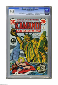 Kamandi, the Last Boy on Earth #1 (DC, 1972) CGC NM+ 9.6 White pages. Origin and first appearances of Kamandi, Dr. Canus...