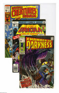 Bronze Age (1970-1979):Horror, Marvel Bronze Age Horror Group (Marvel, 1969-76). Twentythree-issue group lot includes Chamber of Darkness #1; Creatu...(23 Comic Books)