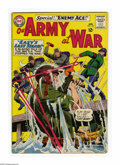 Silver Age (1956-1969):War, Our Army at War #153 (DC, 1965) Condition: FN. Sgt. Rock appears. Second appearance of Enemy Ace. Joe Kubert cover and art. ...