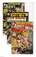 Silver Age (1956-1969):War, Our Army at War Group (DC, 1965-75) Condition: Average FN. This group consists of 16 comics: #152 (fourth all Sgt. Rock issu... (16 Comic Books)