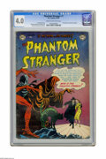 Golden Age (1938-1955):Horror, Phantom Stranger, The (Golden Age series) #1 (DC, 1952) CGC VG 4.0Cream to off-white pages. First appearance of the Phantom...