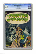 Golden Age (1938-1955):Horror, The Phantom Witch Doctor #1 (Avon, 1952) CGC FN+ 6.5 Off-whitepages. Cover and art by Everett Raymond Kintsler cover and ar...