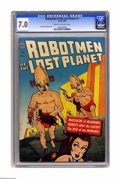 Golden Age (1938-1955):Science Fiction, Robotmen of the Lost Planet #1 (Avon, 1952) CGC FN/VF 7.0 Cream tooff-white pages. Gene Fawcette and Mike McCann art. Overs...