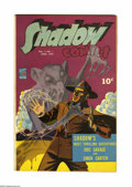 Golden Age (1938-1955):Superhero, Shadow Comics V4#1 (Street & Smith, 1944) Condition: Qualified VF-. Charles Coll art. Centerfold detached. Overstreet 2005 G...