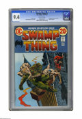Bronze Age (1970-1979):Horror, Swamp Thing #2 (DC, 1973) CGC NM 9.4 Off-white to white pages.First appearance of Patchwork Man in cameo. Bernie Wrightson ...