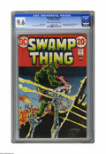 Bronze Age (1970-1979):Horror, Swamp Thing #3 (DC, 1973) CGC NM+ 9.6 Cream to off-white pages.First full appearance of Patchwork Man. Bernie Wrightson cov...