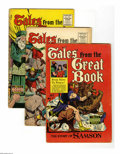 Golden Age (1938-1955):Religious, Tales From the Great Book Plus Group (Famous Funnies, 1955).Five-issue group lot includes Tales from the Great Book #1 ... (5Comic Books)