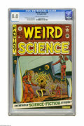 Golden Age (1938-1955):Science Fiction, Weird Science #8 (EC, 1951) CGC VF 8.0 Light tan to off-white pages. Al Feldstein cover. Feldstein, Wally Wood, Jack Kamen, ...