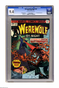 Bronze Age (1970-1979):Horror, Werewolf by Night #28 (Marvel, 1975) CGC NM 9.4 Off-white to whitepages. Dr. Glitternight appearance. Gil Kane cover. Don P...