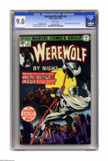 Bronze Age (1970-1979):Horror, Werewolf by Night #33 (Marvel, 1975) CGC VF/NM 9.0 White pages.Second appearance of Moon Knight. Gil Kane and Klaus Janson ...