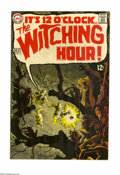 Silver Age (1956-1969):Horror, Witching Hour #3 (DC, 1969) Condition: VF/NM. Mike Sekowsky andNick Cardy cover art. Overstreet 2005 VF/NM 9.0 value = $59;...
