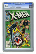 Modern Age (1980-Present):Superhero, X-Men #178 (Marvel, 1984) CGC NM+ 9.6 Off-white to white pages. John Romita Jr. cover and art. Overstreet 2005 NM- 9.2 value...