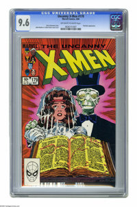 X-Men #179 (Marvel, 1984) CGC NM+ 9.6 Off-white to white pages. Morlocks appearance. John Romita Jr. and Dan Green cover...