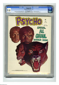 Psycho #15 (Skywald, 1973) CGC NM/MT 9.8 Off-white to white pages. Special All-Ghoul issue. Jose Gual biography and phot...