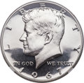 SMS Kennedy Half Dollars, 1967 50C SMS MS69 Cameo NGC....
