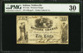 Obsoletes By State:Indiana, Noblesville, IN- Tucker Cabot & Co. / Western Change 10¢ ND (ca. 1862-63?) Wolka 629-1. ...