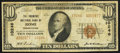 National Bank Notes:Pennsylvania, Rome, PA - $10 1929 Ty. 2 The Farmers NB Ch. # 10246. ...