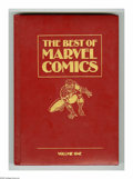 Books, The Best of Marvel Comics (Hardcover) (Marvel, 1987) Condition:VG/FN. Hardcover book features reprints of Fantastic Four