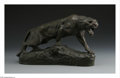 Sculpture, THOMAS FRANCOIS CARTIER (French, 1879 - 1943). Cat. Bronze. 20 x 4.5 x 11in.. Marked on base: T. CARTIER... (Total: 1 Item Item)