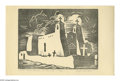 Texas:Early Texas Art - Drawings & Prints, LLOYD LHRON ALBRIGHT (American 1896-1950). My Studio. Wood blockprint. 7.5 x 6in.. Titled, signed and numbered, 61/100,...