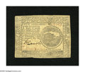 Continental Currency February 26, 1777 $4 About New. A broadly margined example of this much scarcer Baltimore issue whi...