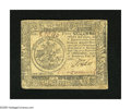 Colonial Notes:Continental Congress Issues, Continental Currency February 26, 1777 $5 Extremely Fine-About New.A lightly circulated example from this much scarcer Balt...
