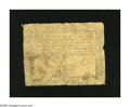 Colonial Notes:Maryland, Maryland August 14, 1776 $1/6 Good. Here is a well-worn, yethistoric note....