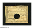 Colonial Notes:New Hampshire, New Hampshire April 29, 1780 $5 Choice About New+++. A wonderfulNew Hampshire note which is sure to find a happy new home i...