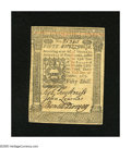 Colonial Notes:Pennsylvania, Pennsylvania October 1, 1773 50s Choice New. A wonderful example ofthe highest denomination from this issue. The paper is ...
